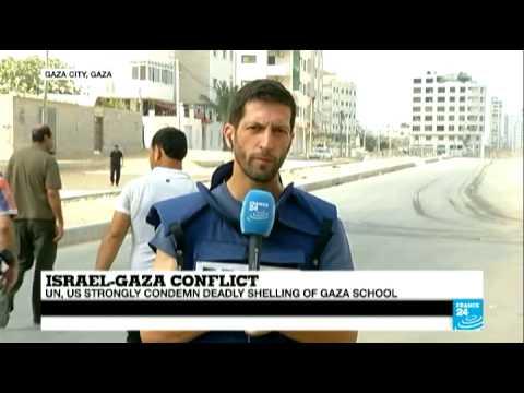 UN, US condemn deadly shelling of Gaza school