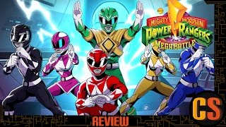 MIGHTY MORPHIN POWER RANGERS: MEGA BATTLE – REVIEW