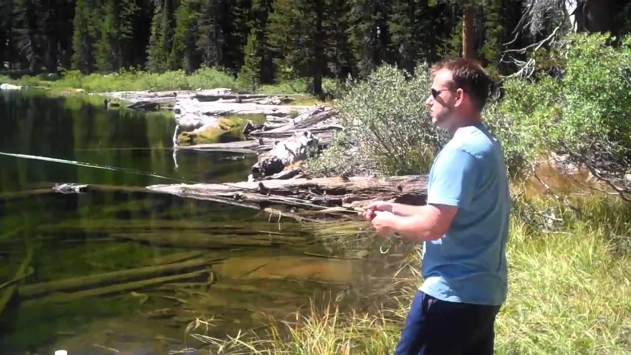 Fly fishing the high sierra 1 youtube for Sierra fly fishing