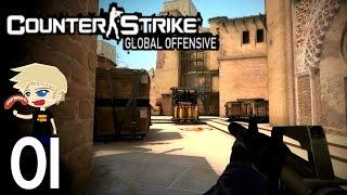 Counter Strike GO: Ranked | #01 | Etwas Taktik muss sein [Deutsch/HD]