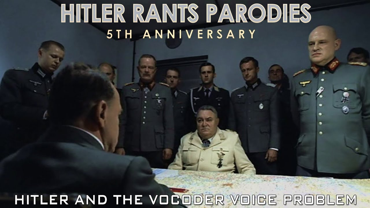 Hitler and the vocoder voice problem I