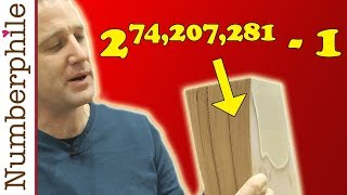 New World's Biggest Prime Number (PRINTED FULLY ON PAPER) - Numberphile