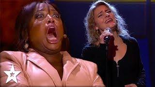 Two Amazing Songs & A GOLDEN BUZZER!   Got Talent Global