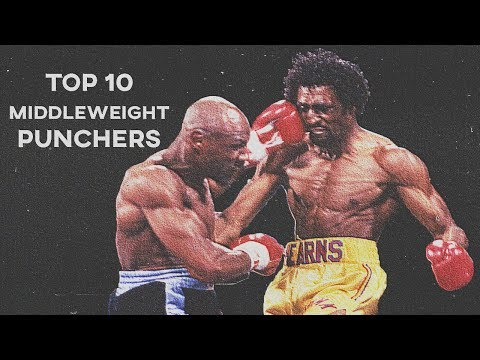 Top Ten Hardest Middleweight Hitters of All Time