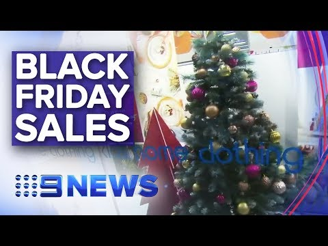 Retailers Prepare For Busiest Black Friday Sales | Nine News Australia