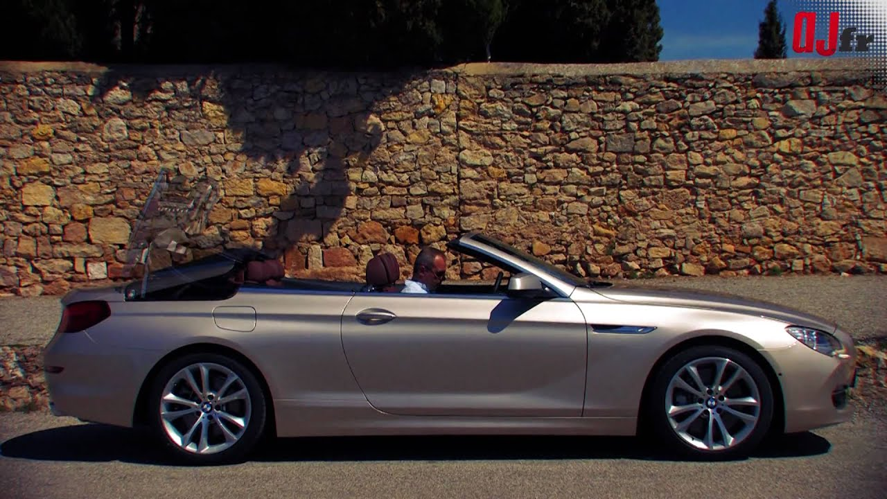 essai bmw serie 6 cabriolet 650i exclusive 2011 youtube. Black Bedroom Furniture Sets. Home Design Ideas