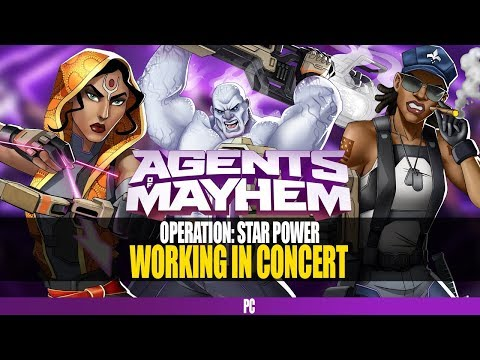 Agents of Mayhem Gameplay Walkthrough Part 39: Operation: Working In Concert | No Commentary