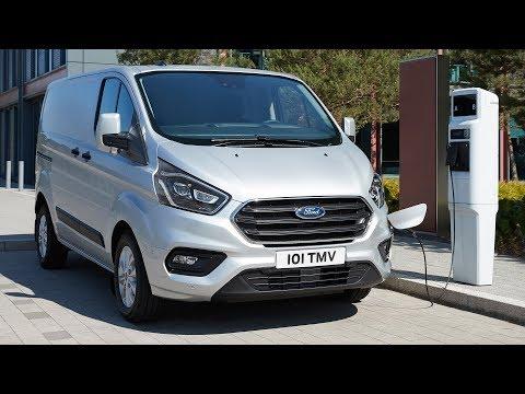 2019 Ford Transit Custom PHEV | Polar Silver | Driving, Charging, Interior