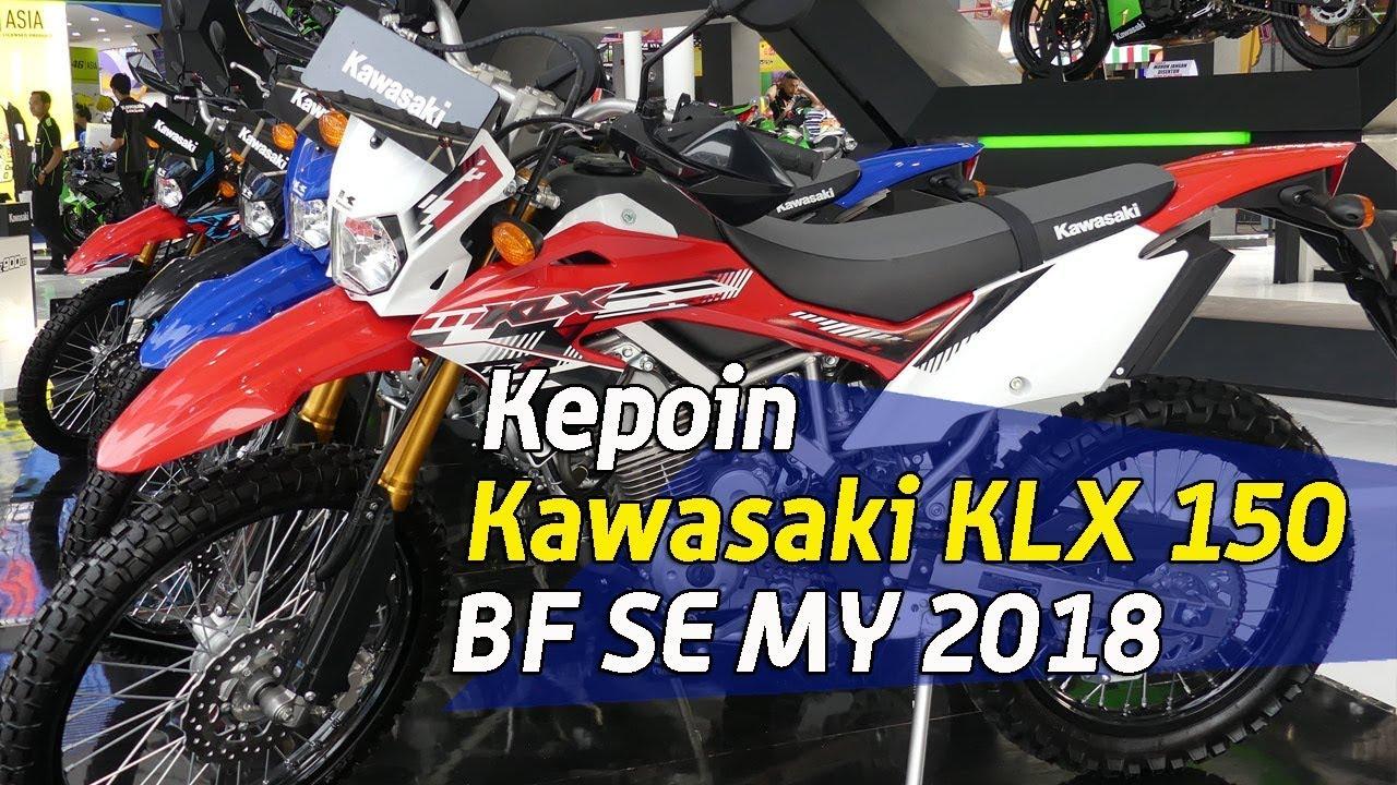 Vlog Kepo In Grafis Baru Kawasaki Klx 150 Bf Se 2018 Youtube