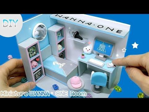 [DIY IDOL ROOM -  WANNA ONE]  아이돌 방 꾸미기 3탄!! 오늘 방 주인공은 나야나~ 워너원 방 만들기