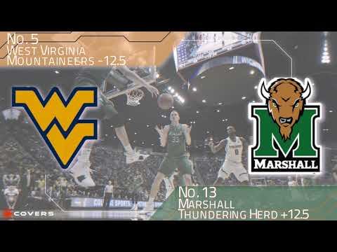 March Madness Betting Breakdown: No. 5 West Virginia vs. No. 13 Marhsall