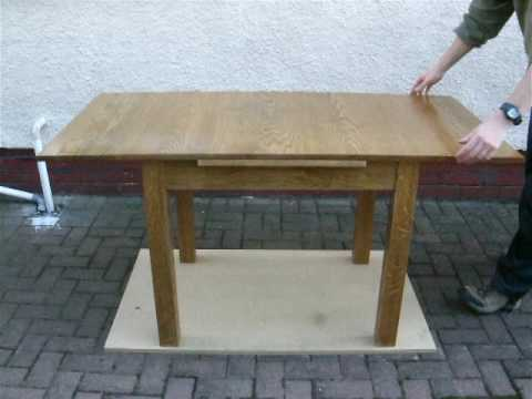 Draw Leaf Table Youtube