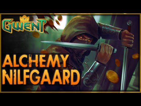 TRUE MAGIC - Alchemy Nilfgaard Deck Guide 4k+ MMR & Gameplay 👑 GWENT | BETA