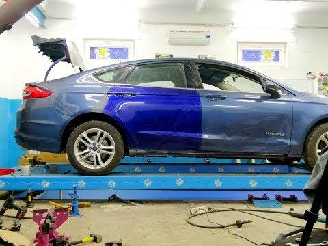 Ford Fusion Hybrid.  Финиш!