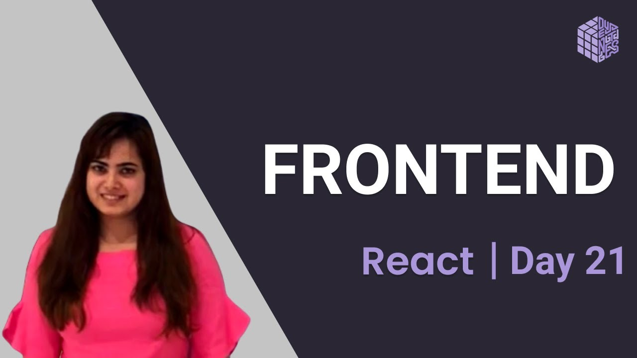 Frontend | Day 21 | APIs | Forms