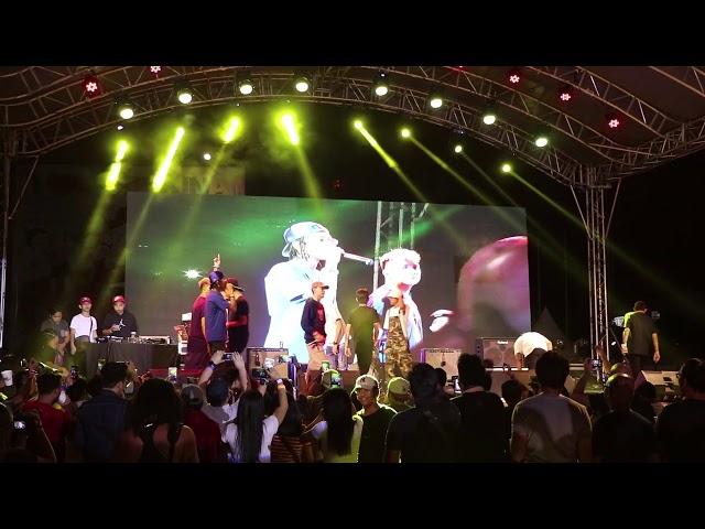 Ex Battalion Live Performance in Marikina Sport Center MUCH BETTER Skusta Clee