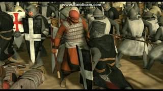 """Rome 2 Total War """"Kingdom Of Heaven Battle of Kerak"""" Machinima Medieval Kingdoms 1212 AD Mod"""
