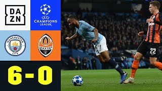 Peinlich-Elfmeter für Raheem Sterling bei Gala: City – Donezk 6:0 | Champions League | Highlights