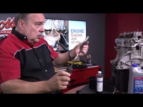 Goss' Garage - Engine Coolant And Oil Mix