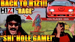 DrDisrespect BACK TO H1Z1 After He\'s BORED With Apex Legends! (Hilarious H1Z1 Moments + Uninstall)