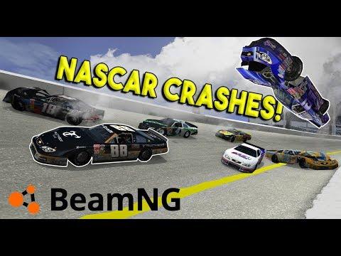 HUGE NASCAR DAYTONA CRASHES! - BeamNG Drive Gameplay & Crashes