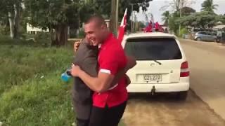 Gambar cover Mate Maa Tonga drops by the villages