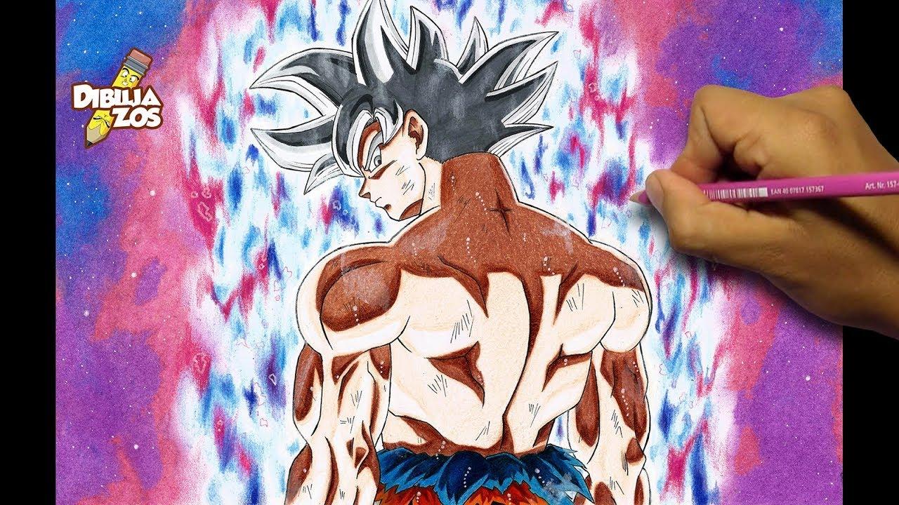 Colorear Goku Goku Ultra Instinto Dominado Para Colorear