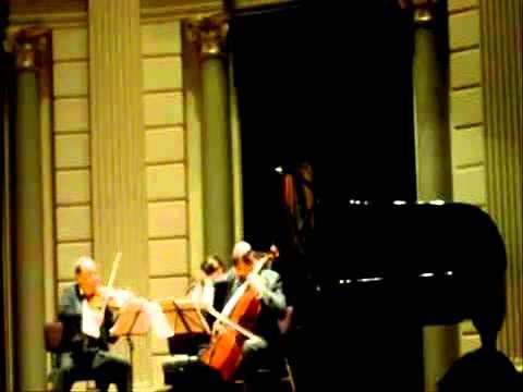 Tchaikovsky Piano Trio Part 5 of 5 Mikhail & Elizaveta Kopelman, Mikhail Milman