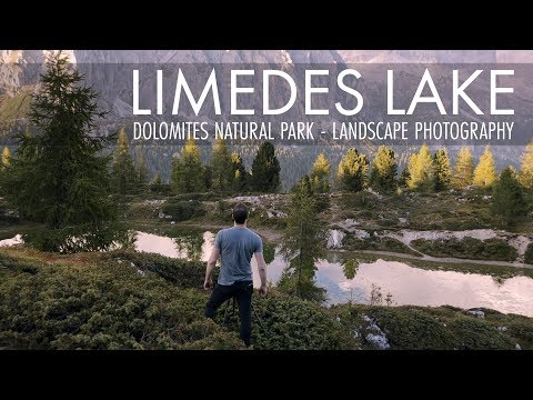 Landscape Photography | Dolomites, Limedes Lake - Fujifilm X-T2