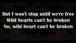 P!nk - Wild hearts cant be broken [Lyrics]