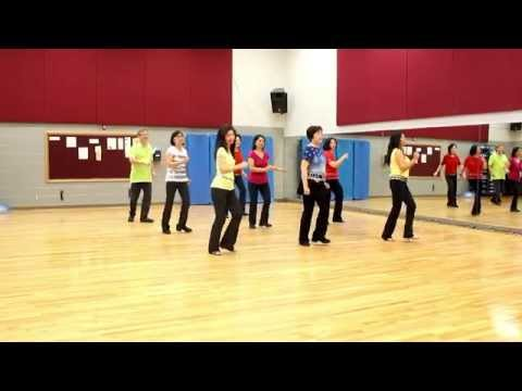 Mexico, Tequila, and Me - Line Dance (Dance & Teach in English & 中文)