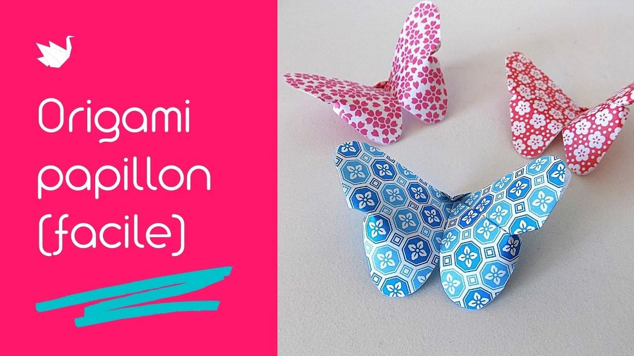 comment faire un origami papillon tutoriel facile