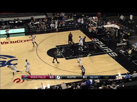 Highlights: Bryn Forbes (36 points)  vs. the Skyforce, 2/23/2017