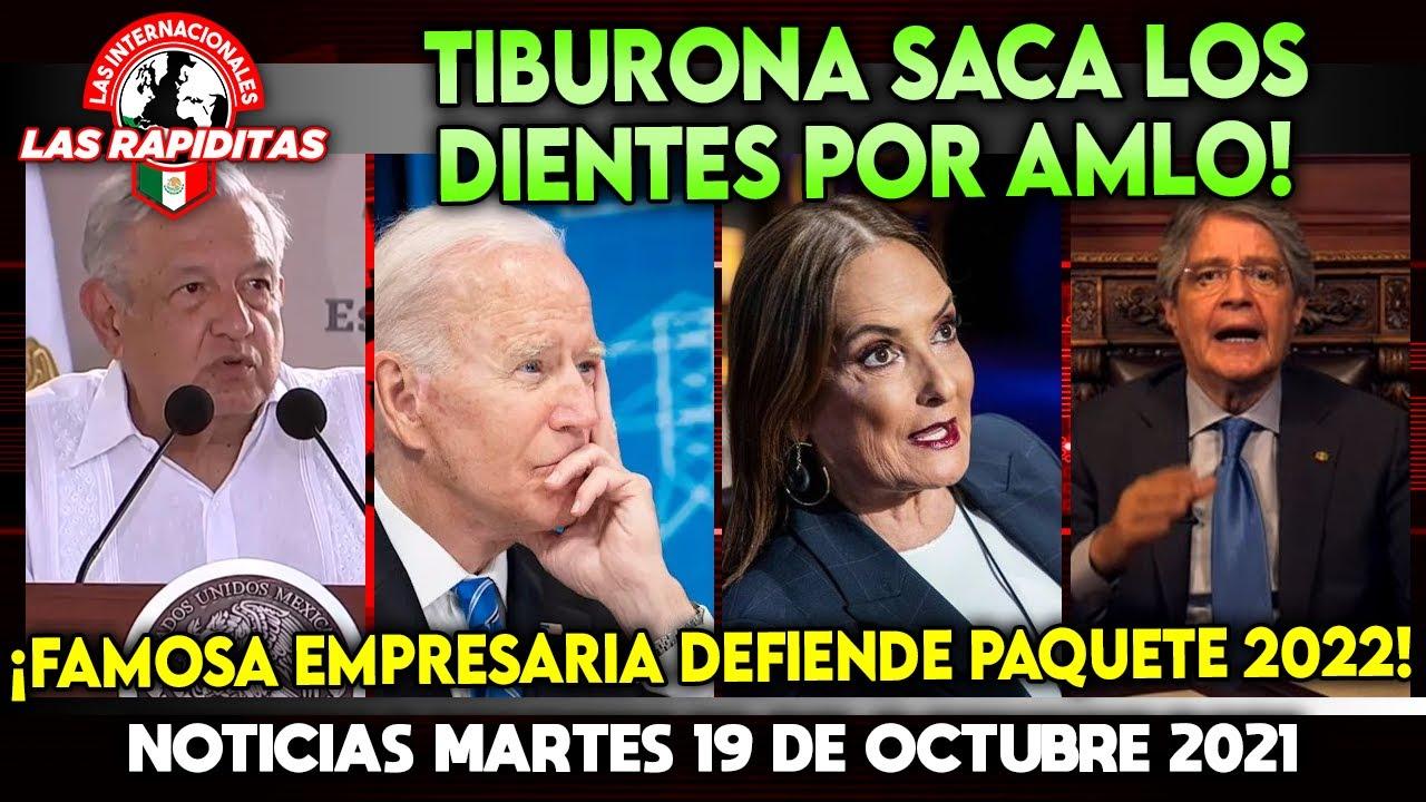 ASÍ SE HACE! TIBURONA SACA LOS DIENTES POR AMLO! FAMOSA EMPRESARIA DEFIENDE PAQUETE ECONOMICO 2022!