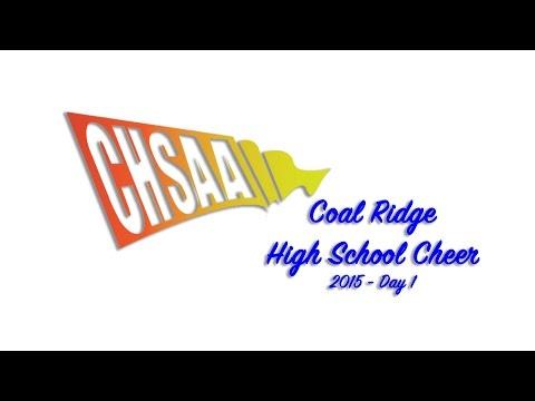 The Coal Ridge Titans Cheer Team - Day 1