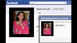 Prachanda's Love song to Sujata Koirala feat. Baburam (Political Facebook Song)