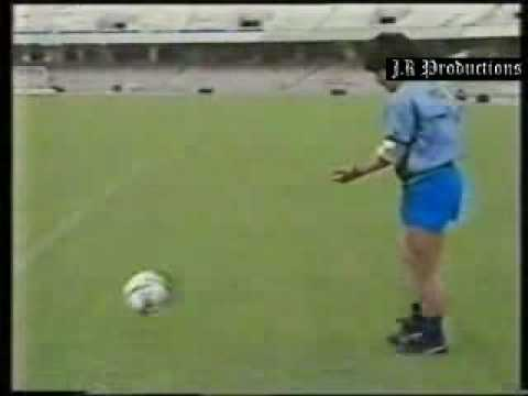 Maradona amazing soccer and dribble skills part 2