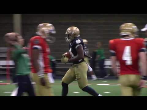 Notre Dame Practice Highlights — March 22