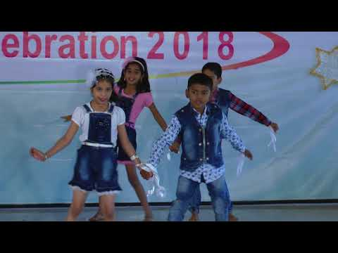 Swag se karenge sabka swagat - HD English Medium School Gathering Dance - 2017-18