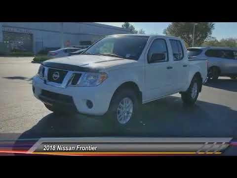 2018 Nissan Frontier DeLand Nissan N729666