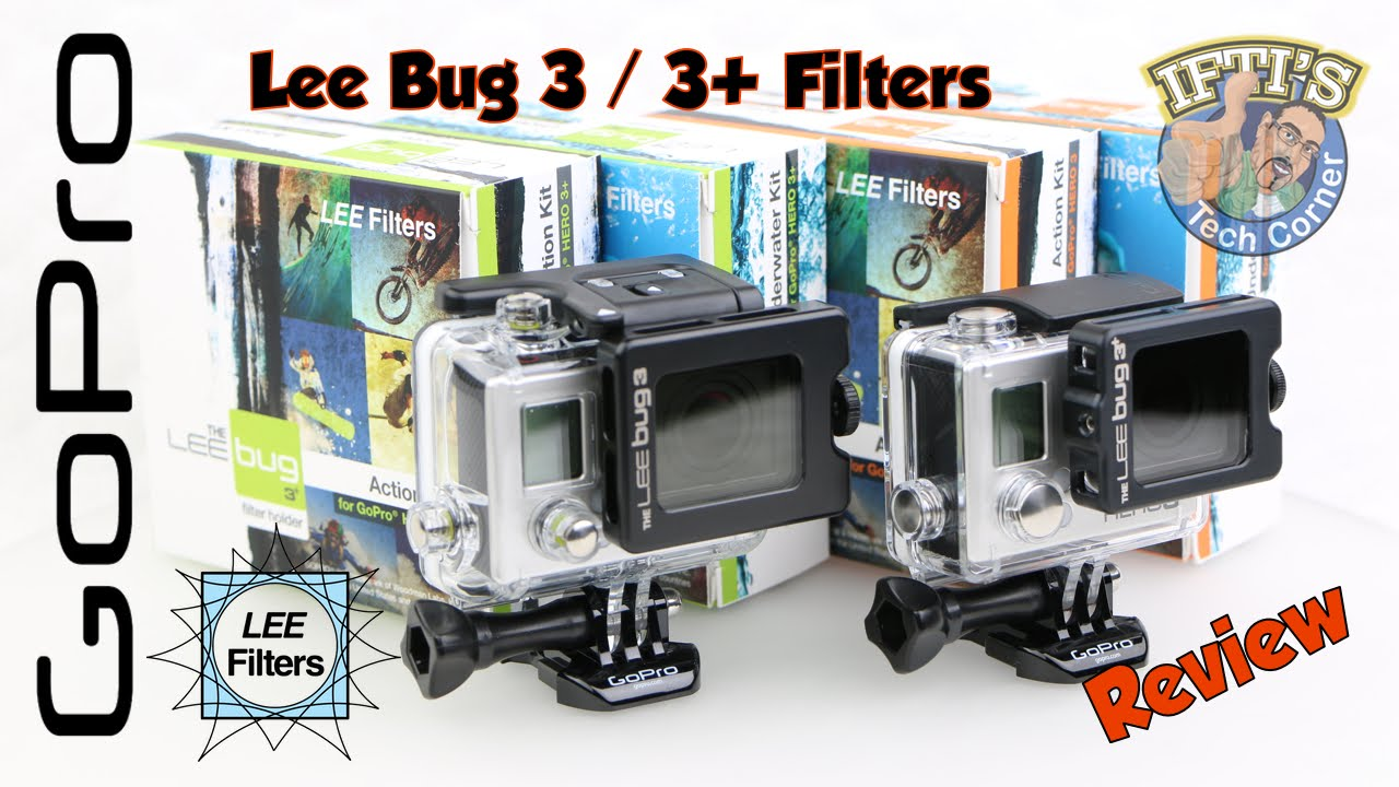 LEE BUG Filters & Adapters for GoPro Hero 3 / 3+ / 4 : REVIEW