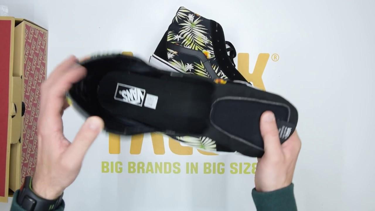 762b326375 Vans UA SK8-Hi Reissue - Palms Black - Unboxing
