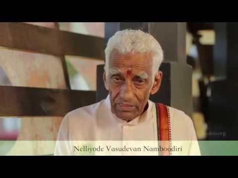 Prelude to a Kathakali recital - Nelliyode Vasudevan Namboodiri