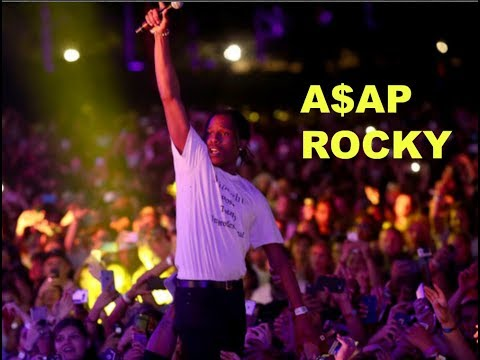 ASAP ROCKY LIVE CONCERTS COMPILATION (CRAZY CROWD REACTIONS)