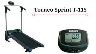 Torneo Sprint T-115 магнитная беговая дорожка(Магнитная беговая дорожка Torneo Sprint T-115 идеальный вариант бюджетного тренажера. С помощью Torneo Sprint T-115 вы может..., 2016-10-07T07:37:19.000Z)