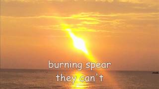 Watch Burning Spear They Cant video