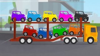 Развивающий мультик про автовоз и машинки.  Доктор Машинкова