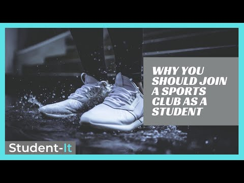 Why Joining a Sports Club or Society is a Good Idea at University!