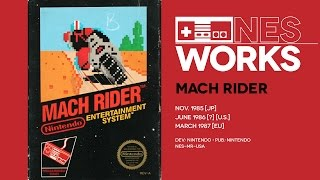 Mach Rider retrospective: The sum total of '80s pop culture in game form | NES Works #018