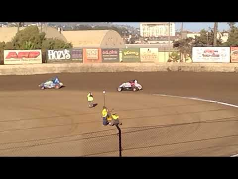 VRA Senior Sprint Car Heat Race 08312019 Ventura Raceway